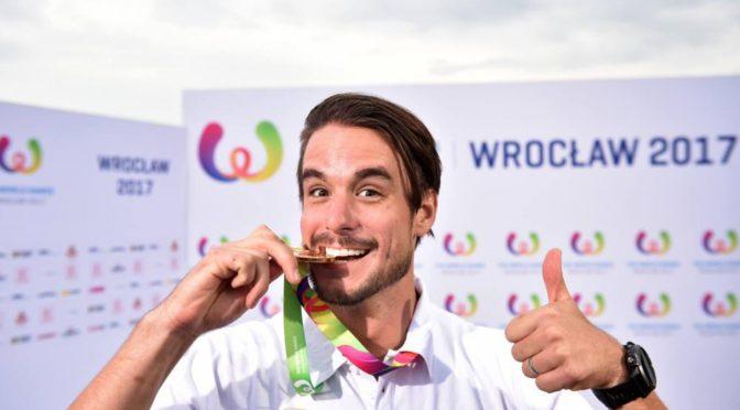 Adam Sedlmajer má zlato na Světových hrách